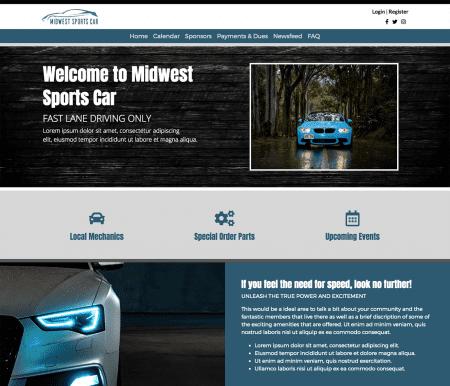 Your Site, Your Unique Design